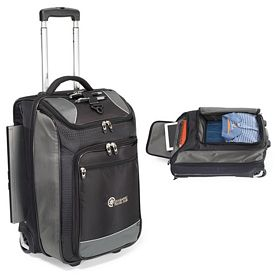 Promotional Vertex Tech Polyester Carry-On Wheeled Upright