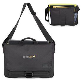 Promotional Isaac Mizrahia Polyester Twill Computer Bag