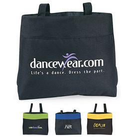 Promotional Expo Polyester Tote Bag