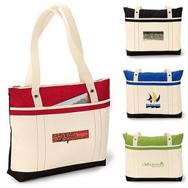 Promotional Windjammer Polyester Tote Bag
