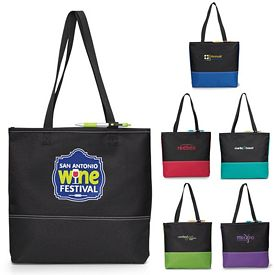 Promotional Prelude Convention Polyester Tote Bag