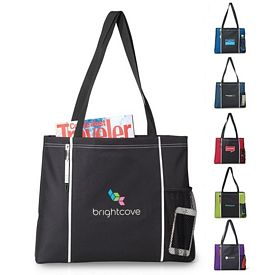 Promotional Classic Convention Polyester Tote Bag