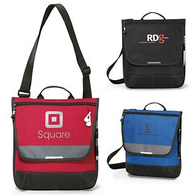Promotional Omni Tablet Polyester Messenger Bag