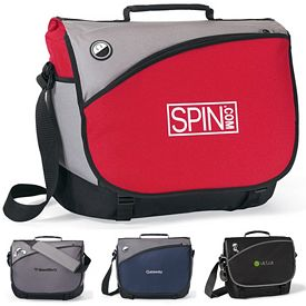 Promotional Freestyle Computer Polyester Messenger Bag