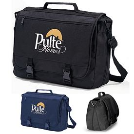 Promotional Executive Polyester Saddlebag