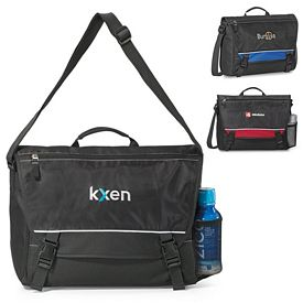 Promotional Pursuit Polyester Computer Messenger Bag
