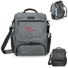 Promotional Zebra Convertible Computer Messenger Bag