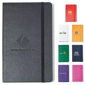Promotional Moleskine Hard Cover Ruled Large Notebook