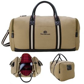 Promotional Heritage Supply Cotton Duffel