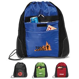 Promotional Elite Sport Insulated Pocket Cinchpack