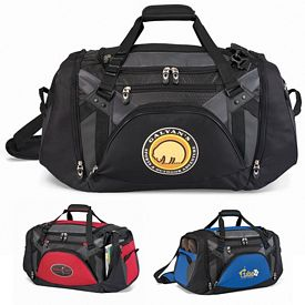 Promotional Large Vertex Tech Polyester  Duffel