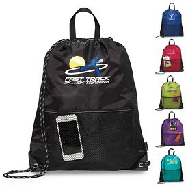 Promotional Dash Sport Polyester Cinchpack
