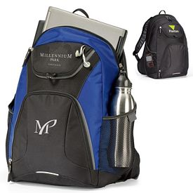Promotional Quest Computer Polyester Backpack