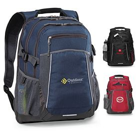 Promotional Pioneer Computer Polyester Backpack