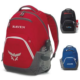 Promotional Rangeley Computer Polyester Backpack