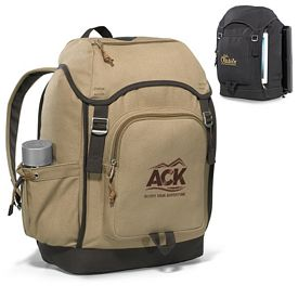 Promotional Heritage Supply Trek Computer Cotton Backpack