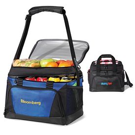 Promotional Vertex Polyester Cooler Deluxe