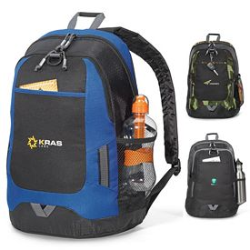 Promotional Maverick Computer Polyester Backpack
