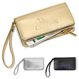 Promotional Lexi Leather Wristlet Wallet