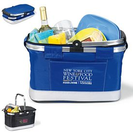 Promotional All Purpose Basket Polyester Cooler
