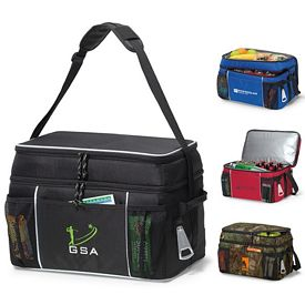 Promotional Campsite Polyester Cooler