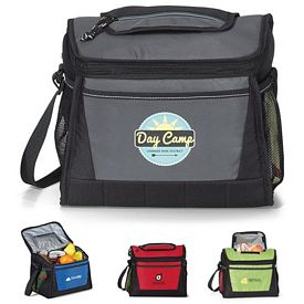 Promotional Open Trail Polyester Cooler