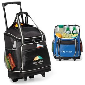 Promotional Harbor Wheeled Polyester Cooler