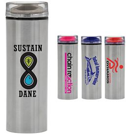 Promotional 15 oz. Parisian Stainless Steel Water Bottle