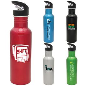 Promotional 27 oz. Hiker Aluminum Water Bottle