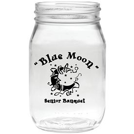 Promotional 16 oz. Shindig Glass Jar