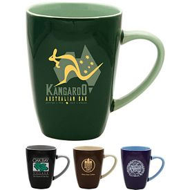 Promotional 17 oz. Quadro Coffee Mug