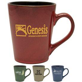 Promotional 14 oz. Serenity Cafe Ceramic Mug