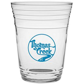 Promotional 16 oz. Glass Fill Up Cup