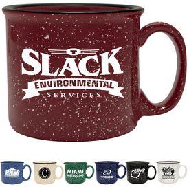 Promotional 14 oz. Camper Ceramic Mug