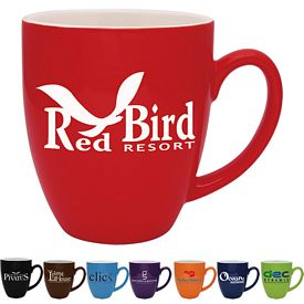 Promotional 16 oz. Duo-Tone Bistro Coffee Mug