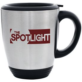 Promotional 16 oz. Steel City Bistro Mug