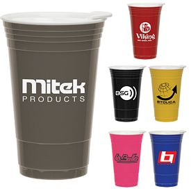 Promotional 16 oz. Fill Up Plastic Cup