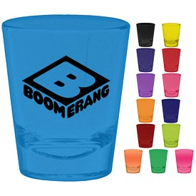 Promotional 1.5 oz. Tapered Shot Glass with Full Body Custom Glow