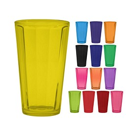 Promotional 16 oz. Optic Mixing Glass with Full Body Custom Glow