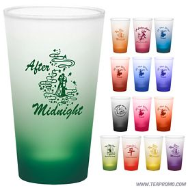 Promotional 16 oz. Pint Mixing Glass with Custom Frost Glow