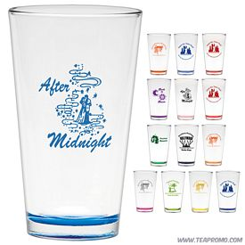 Promotional 16 oz. Pint Mixing Glass with Custom Glow