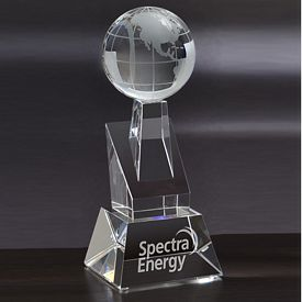 Promotional Small Rondure Globe Tower Award