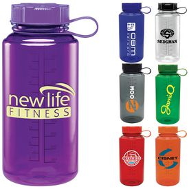 Promotional 32 oz. Baltic Cylinder Water Bottle