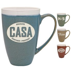 Promotional 17 oz. Terra Bella Mug with Deep Etching