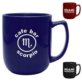 Promotional 17 oz. Noble Coffee Mug with Deep Etching