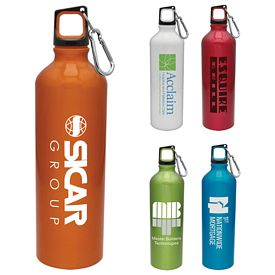 Promotional 25 oz. Aluminum Scuba Water Bottles