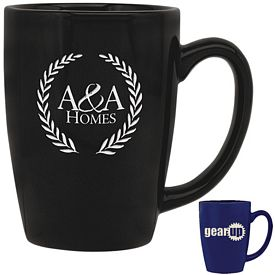 Promotional 16 oz. Taza Coffee Mug with Deep Etching