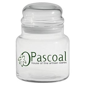 Promotional 16 oz. Apothecary Jar with Dome Lid