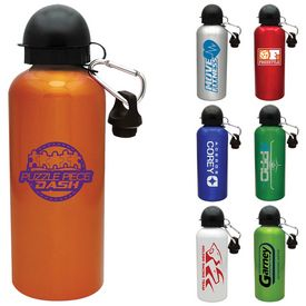 Promotional 20 oz. Aluminum Cyclist Water Bottle