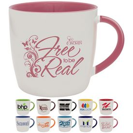 Promotional 13 oz. Duo-Tone Festival Coffee Mug